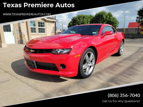 2014 Chevrolet Camaro for sale at Texas Premiere Autos in Amarillo TX