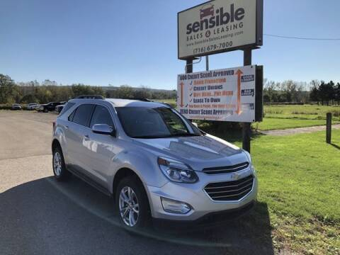 2016 Chevrolet Equinox for sale at Sensible Sales & Leasing in Fredonia NY