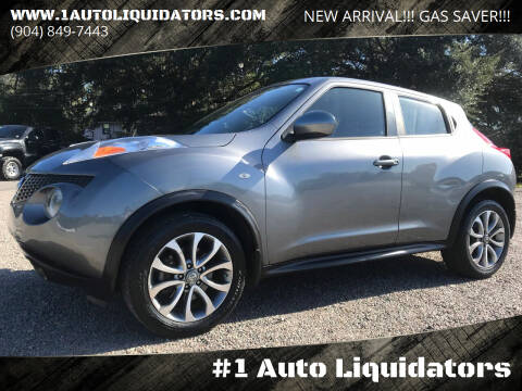2012 Nissan JUKE for sale at #1 Auto Liquidators in Yulee FL