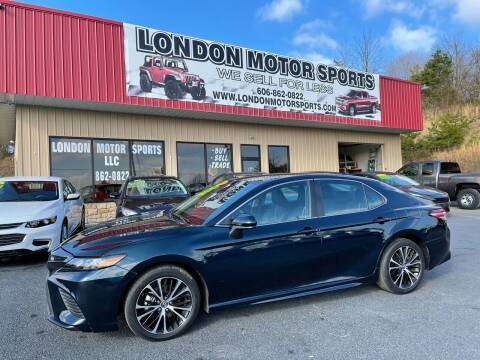 2020 Toyota Camry for sale at London Motor Sports, LLC in London KY