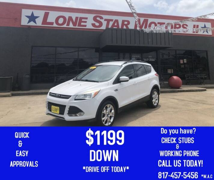 2013 Ford Escape for sale at LONE STAR MOTORS II in Fort Worth TX