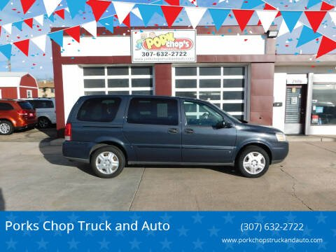 2008 Chevrolet Uplander for sale at Porks Chop Truck and Auto in Cheyenne WY
