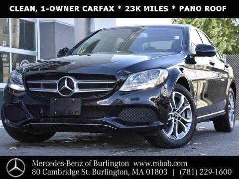 2017 Mercedes-Benz C-Class for sale at Mercedes Benz of Burlington in Burlington MA