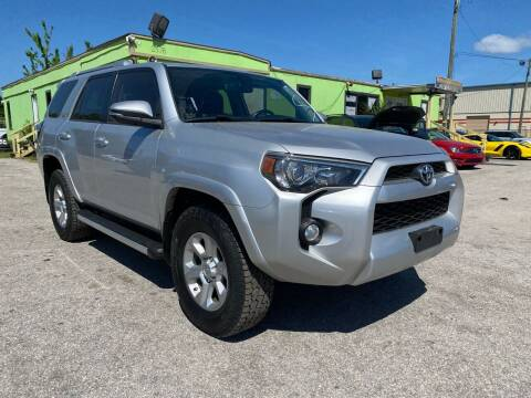 2015 Toyota 4Runner for sale at Marvin Motors in Kissimmee FL