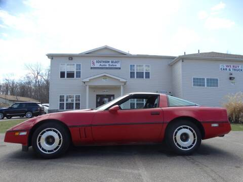 1985 Chevrolet Corvette for sale at SOUTHERN SELECT AUTO SALES in Medina OH