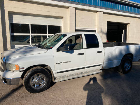 2003 Dodge Ram Pickup 2500 for sale at Ogden Auto Sales LLC in Spencerport NY