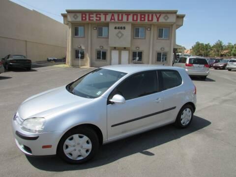 2007 Volkswagen Rabbit for sale at Best Auto Buy in Las Vegas NV