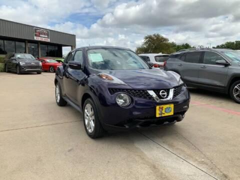 2017 Nissan JUKE for sale at KIAN MOTORS INC in Plano TX
