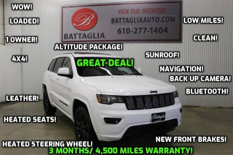 2019 Jeep Grand Cherokee for sale at Battaglia Auto Sales in Plymouth Meeting PA