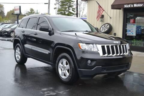 2013 Jeep Grand Cherokee for sale at Nick's Motor Sales LLC in Kalkaska MI