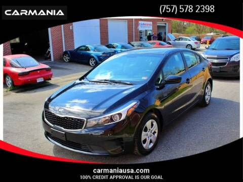 2018 Kia Forte for sale at CARMANIA LLC in Chesapeake VA