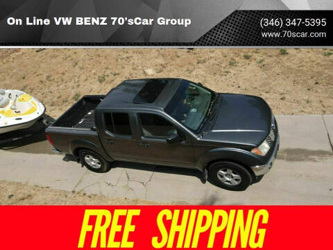 2006 Nissan Frontier for sale at On Line VW BENZ 70'sCar Group in Warehouse CA