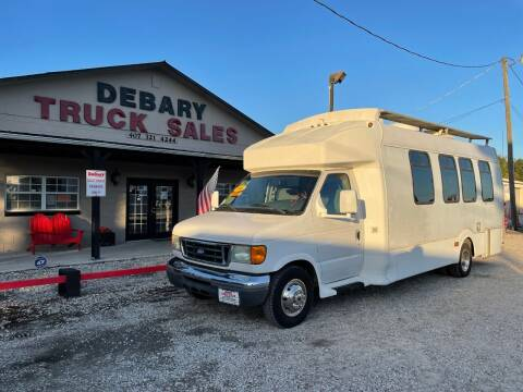 2006 Ford E-450 for sale at DEBARY TRUCK SALES in Sanford FL
