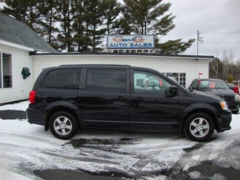 2012 Dodge Grand Caravan for sale at G and G AUTO SALES in Merrill WI