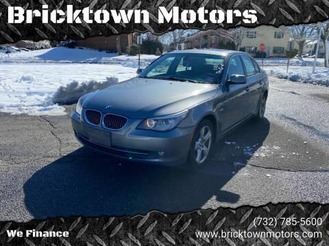 2008 BMW 5 Series for sale at Bricktown Motors in Brick NJ