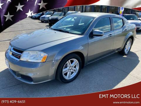 2012 Dodge Avenger for sale at EMT MOTORS LLC in Portland OR