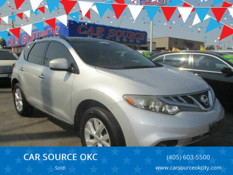 2012 Nissan Murano for sale at CAR SOURCE OKC in Oklahoma City OK