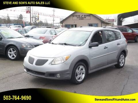 2008 Pontiac Vibe for sale at Steve & Sons Auto Sales in Happy Valley OR