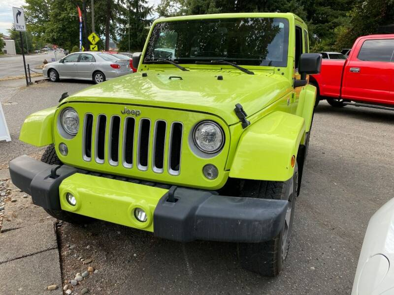 2017 Jeep Wrangler for sale at Exotic Motors in Redmond WA