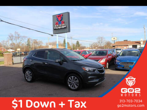 2018 Buick Encore for sale at Go2Motors in Redford MI