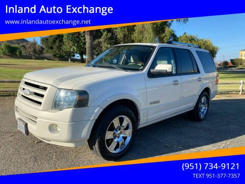 2008 Ford Expedition for sale at Inland Auto Exchange in Norco CA