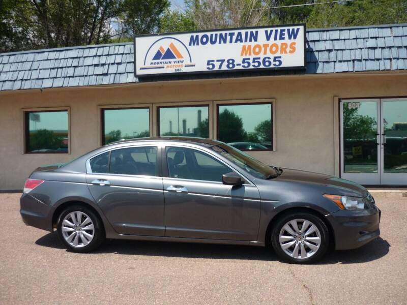 2011 Honda Accord for sale at Mountain View Motors Inc in Colorado Springs CO
