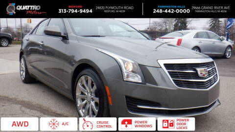 2017 Cadillac ATS for sale at Quattro Motors 2 - 1 in Redford MI