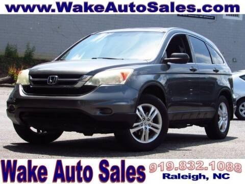 2010 Honda CR-V for sale at Wake Auto Sales Inc in Raleigh NC
