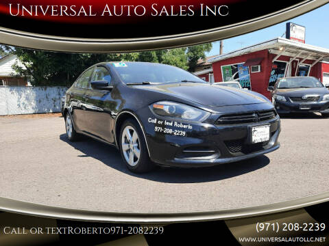 2015 Dodge Dart for sale at Universal Auto Sales Inc in Salem OR