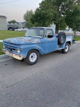 1961 Ford F-250 for sale at Classic Car Deals in Cadillac MI