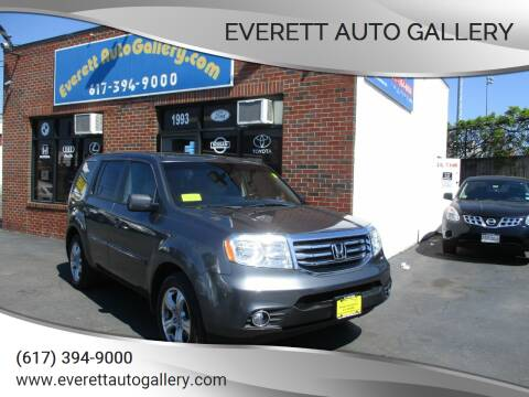 2012 Honda Pilot for sale at Everett Auto Gallery in Everett MA