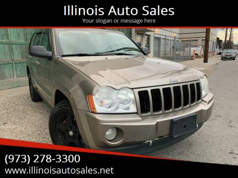2006 Jeep Grand Cherokee for sale at Illinois Auto Sales in Paterson NJ