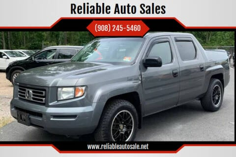 2007 Honda Ridgeline for sale at Reliable Auto Sales in Roselle NJ