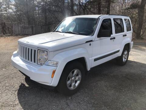 2012 Jeep Liberty for sale at Motuzas Automotive Inc. in Upton MA