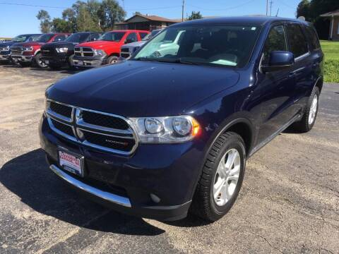 2013 Dodge Durango for sale at Louisburg Garage, Inc. in Cuba City WI