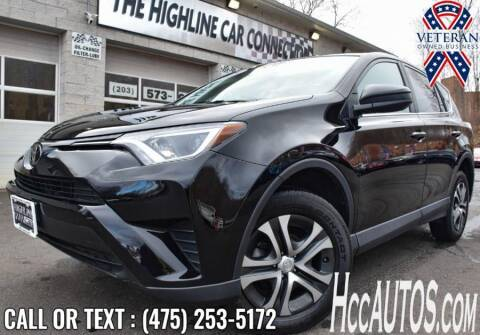2018 Toyota RAV4 for sale at The Highline Car Connection in Waterbury CT