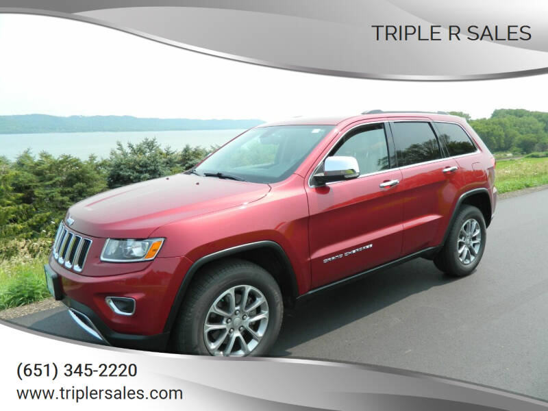 2014 Jeep Grand Cherokee for sale at Triple R Sales in Lake City MN
