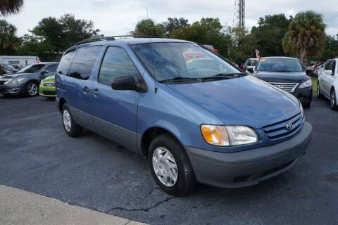 2002 Toyota Sienna for sale at J Linn Motors in Clearwater FL