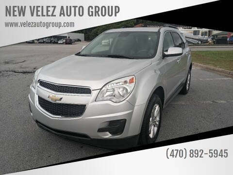 2012 Chevrolet Equinox for sale at NEW VELEZ AUTO GROUP in Gainesville GA