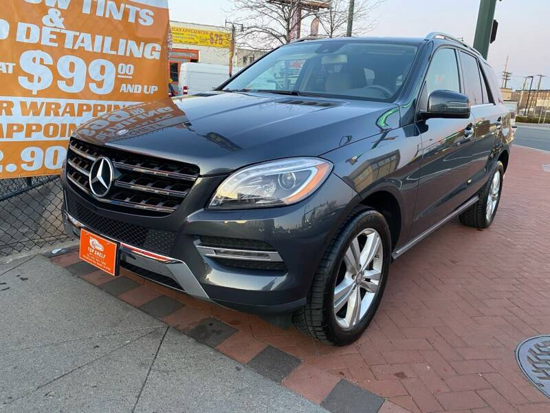 2013 Mercedes-Benz M-Class for sale at TOP SHELF AUTOMOTIVE in Newark NJ