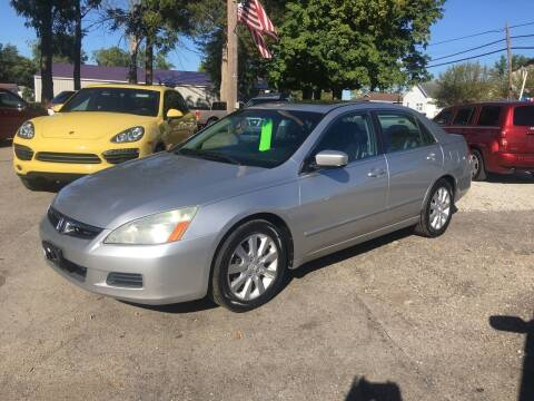 2006 Honda Accord for sale at Antique Motors in Plymouth IN
