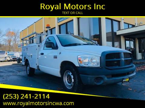 2008 Dodge Ram Pickup 2500 for sale at Royal Motors Inc in Kent WA