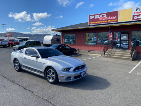 2013 Ford Mustang for sale at Pro Motors in Roseburg OR