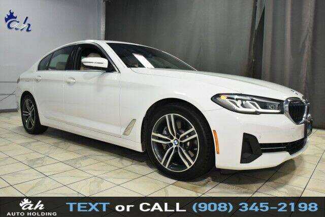 2021 BMW 5 Series for sale at AUTO HOLDING in Hillside NJ