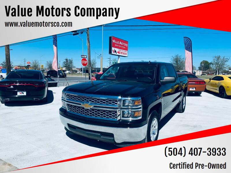 2014 Chevrolet Silverado 1500 for sale at Value Motors Company in Marrero LA