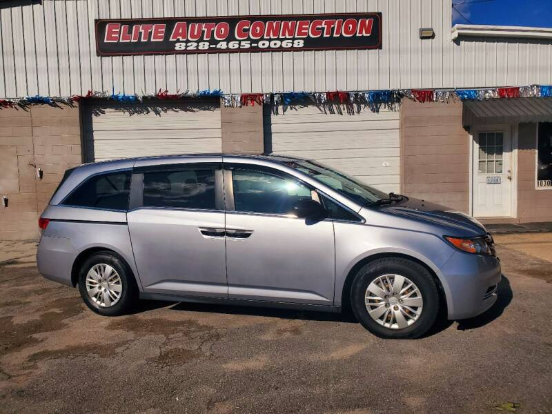 2016 Honda Odyssey for sale at Elite Auto Connection in Conover NC