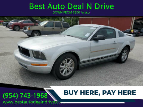 2005 Ford Mustang for sale at Best Auto Deal N Drive in Hollywood FL