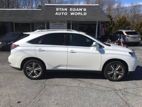 2015 Lexus RX 350 for sale at STAN EGAN'S AUTO WORLD, INC. in Greer SC