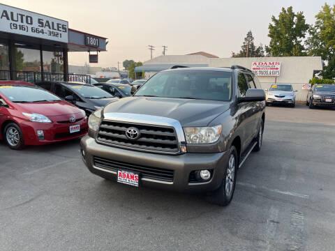 2008 Toyota Sequoia for sale at Adams Auto Sales in Sacramento CA