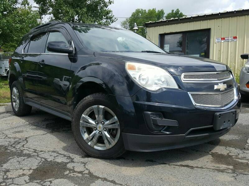 2011 Chevrolet Equinox for sale at GLOVECARS.COM LLC in Johnstown NY